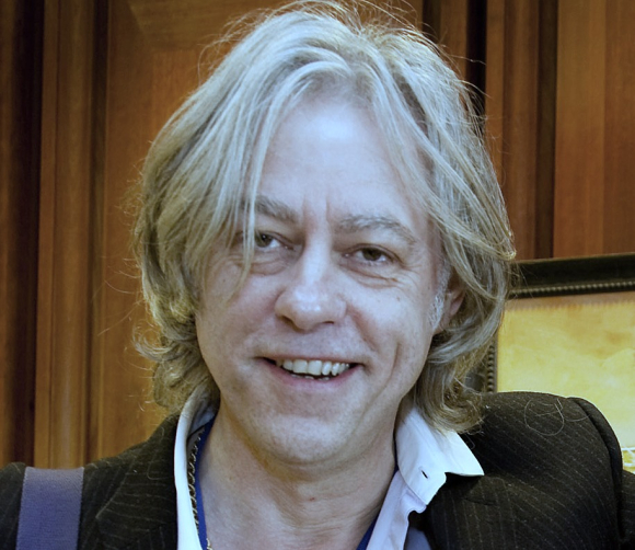 Sir Bob Geldof with keynote speech at AquaVision 2014.