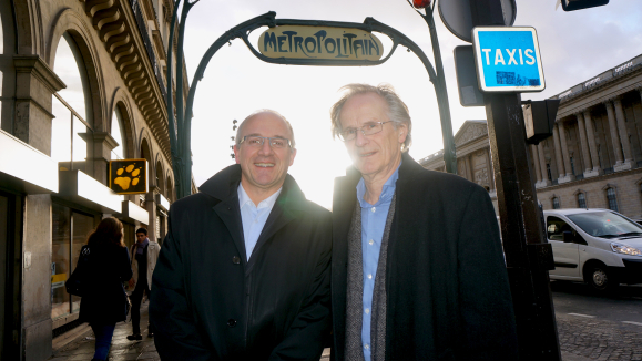 Co-founders of BICA, Pierre Erwes (left) and Øystein Lie.  Photo: Magne Otterdal